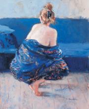 Herman van Hoogdalem, De blauwe kimono