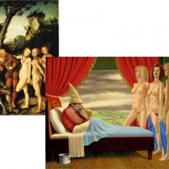Lucas Cranach (1472-1553) / Piet Deunhouwer (1928)