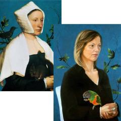 Hans Holbein (1497-1543) / Natascha van den Berg (1980)
