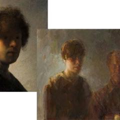 Rembrandt (1606-1669) / Dorry van de Winkel (1957)