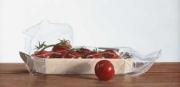 Tros-tomaten, Rob Møhlmann, 2002, olieverf op paneel, 20x40cm