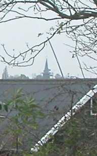 Plaatsing van de torenspits