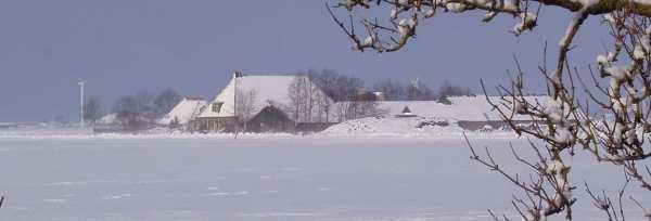 Boerderij in Friesland (foto Frans Faber)