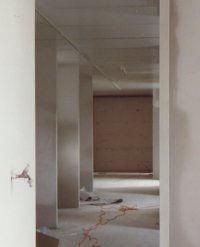 De aanbouw-in-wording van binnen