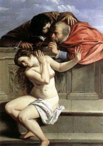 Artemisia, Suzanna en de Ouderlingen, ca. 1610