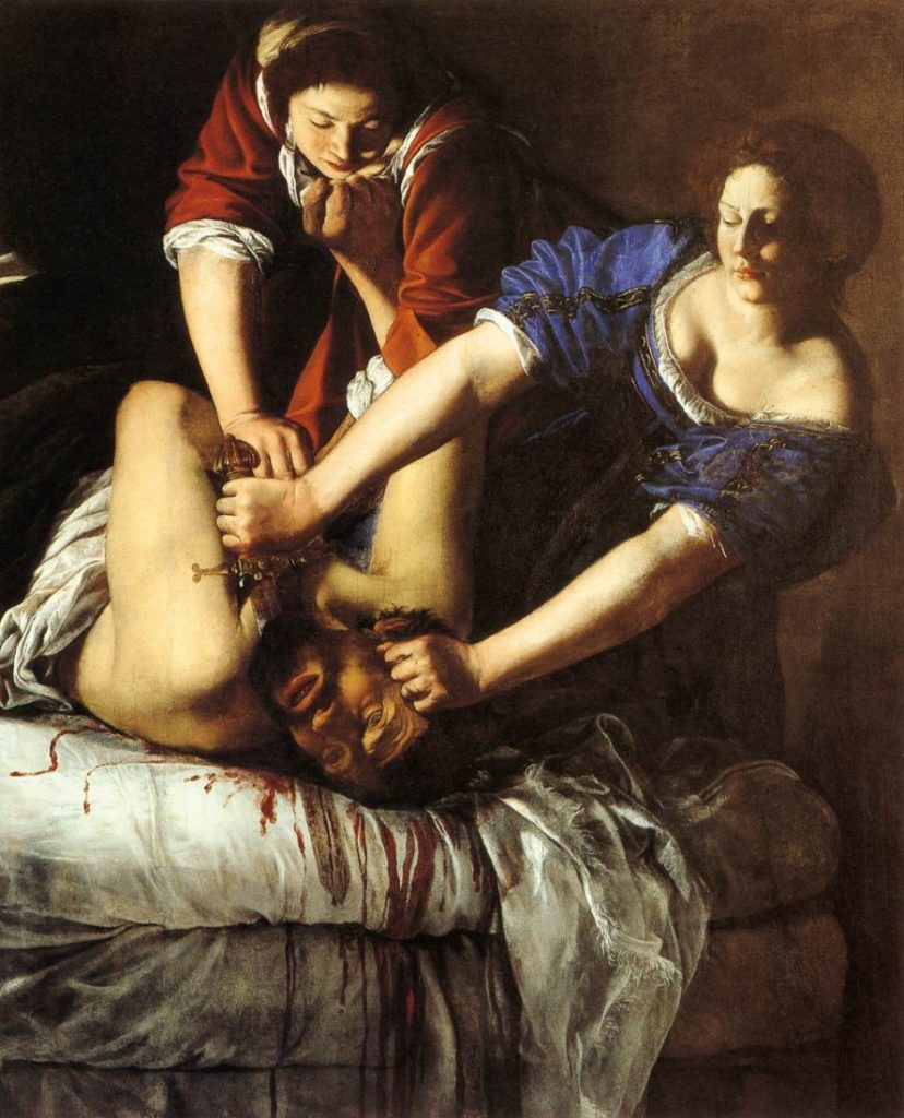 Artemisia, Onthoofding van Holofernes door Judit, ca. 1612