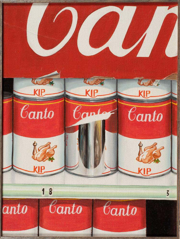 Canto 1, Blikvanger, 1982, olieverf op doek