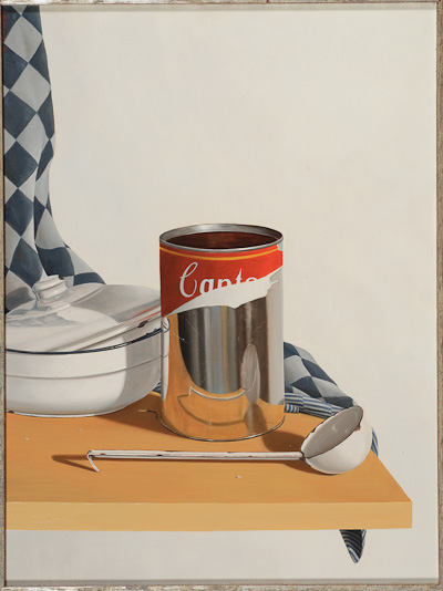 Rob Møhlmann - Canto 58, Compositie op keukenplank - 1986
