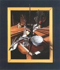 juli/augustus: Framed-7, olieverf op paneel, 1999, 60 x 50 cm