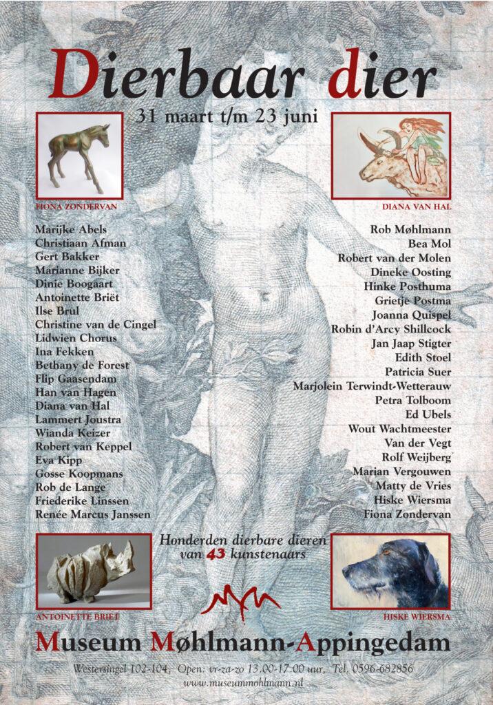 Poster Dierbaar Dier