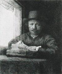 Rembrandt, ets 1648