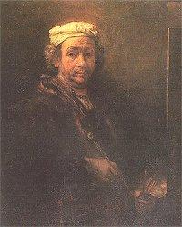Rembrandt, zelfportret 1660
