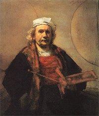 Rembrandt, zelfportret 1662