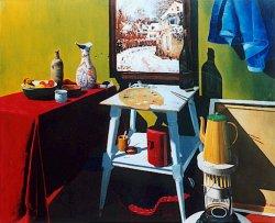 Sisley in het atelier, 1978