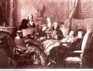 Spetterend schilderij van naamloze, 18e eeuwse kunstenaar