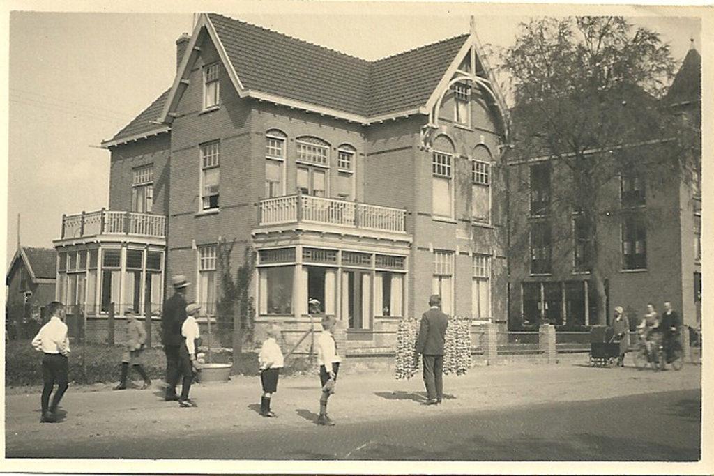(Voor)grootouderlijk huis in Hillegom